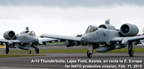 A10 Thunderbolts enroute to E. Europe - ALLOW IMAGES