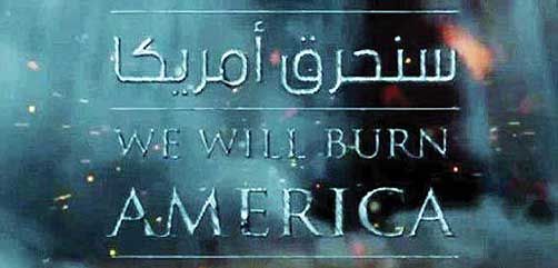 We Will Burn America - ALLOW IMAGES