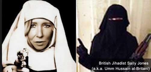 British Jihadist Sally Jones - ALLOW IMAGES