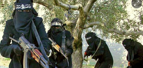 Female ISIS Militants - ALLOW IMAGES