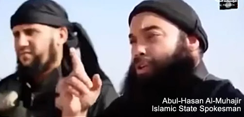 Abul-Hasan Al-Muhajir, Islamic State Spokesman - ALLOW IMAGES