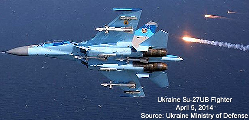 Ukraine Su-27ub Fighter - ALLOW IMAGES