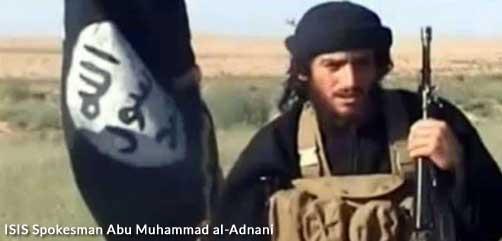 ISIS Spokesman Abu Muhammad al-Adnani - ALLOW IMAGES