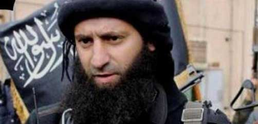 ISIS spokesman Abu Mohammad al-Adnani - ALLOW IMAGES