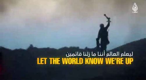 "Scene from latest Islamic State video entitled. ""Answer the Call."" - ALLOW IMAGES"