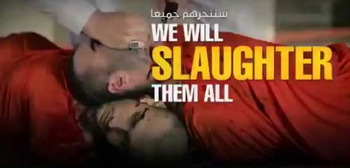 Scene from latest Islamic State video entitled.