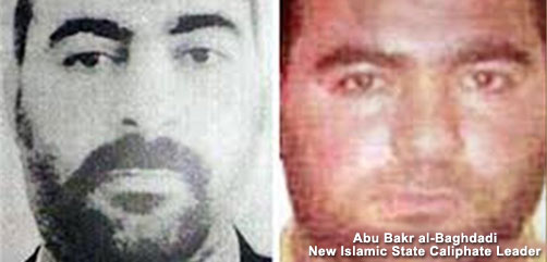 New Islamic Caliphate Leader - ALLOW IMAGES