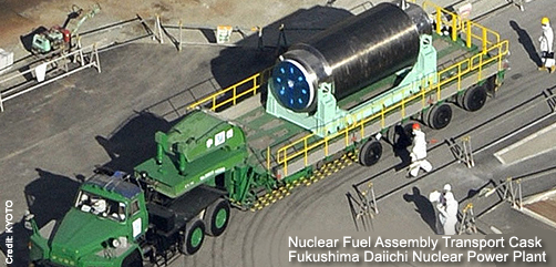 Nuclear Fuel Assembly Transport Truck - ALLOW IMAGES