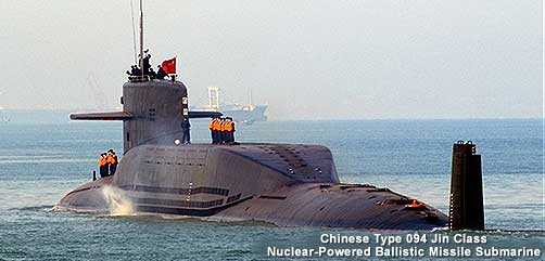 Chinese Jin Class Submarine - ALLOW IMAGES
