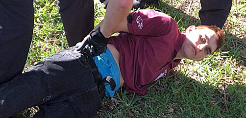 Nikolas Crus, suspect in Parkland, Florida mass shooting incident - ALLOW IMAGES