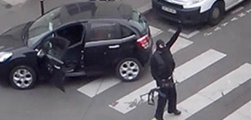 Attacker in Paris - ALLOW IMAGES