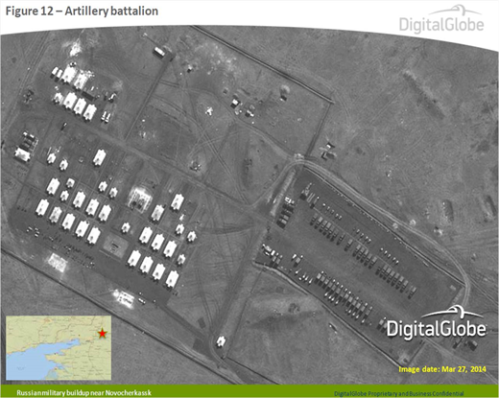 Satellite Photo of Russian Forces - ALLOW IMAGES