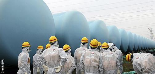 Fukushima Radioactive Water Storage Tanks - ALLOW IMAGES