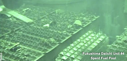 Fukushima Diiachi #4 Spent Fuel Pool - ALLOW IMAGES