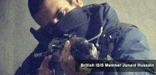 British ISIS Member Junaid Hussain - ALLOW IMAGES