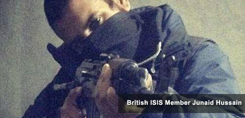 British ISIS Member Junaid Hussain - ALLOW IMAGES