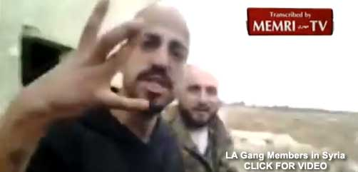 LA Gang Members in Syria - ALLOW IMAGES