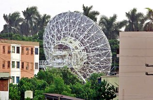 Russian SIGINT Antenna, CUBA - ALLOW IMAGES