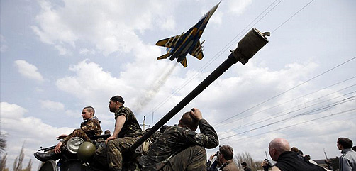 Ukraine S-125 Surface to Air Missiles - ALLOW IMAGES