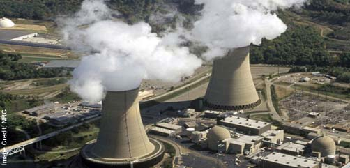 Nuclear Power Station - ALLOW IMAGES