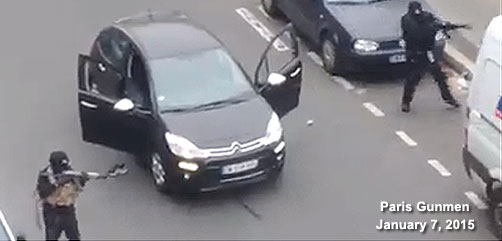 Paris Terrorist Attack - ALLOW IMAGES