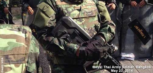Royal Thai Army Soldier - ALLOW IMAGES