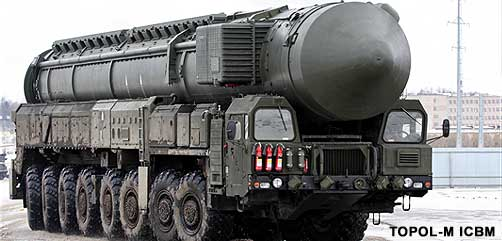 Russian TOPOL-M ICBM - ALLOW IMAGES
