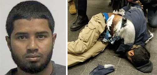 Port Authority Bus Terminal bomber Akayed Ullah - ALLOW IMAGES