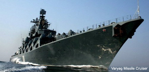 Russian Missile Cruiser Varyag - ALLOW IMAGES
