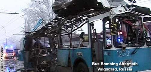 Photo of Bus Bombing Aftermath, Volgograd, Russia - ALLOW IMAGES