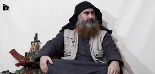Islamic State Leader Abu Bakr al-Baghdadi - ALLOW IMAGES