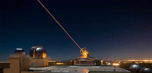 The Sodium Guidestar at the Air Force Research Laboratory Directed Energy Directorate's Starfire Optical Range. - ALLOW IMAGES