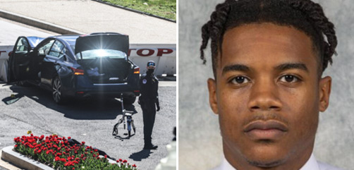 25-year-old Capitol attacker Noah Green.- ALLOW IMAGES
