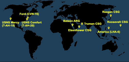 Fleet and Marine Tracker Map as of March 23, 2020  - ALLOW IMAGE8