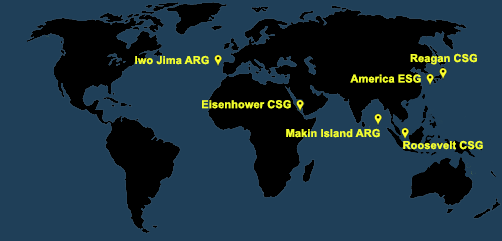 Fleet and Marine Tracker Map as of March 29, 2021  - ALLOW IMAGES
