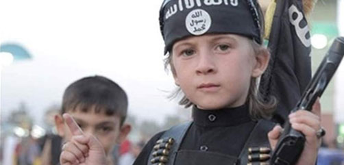 Child of German ISIS fighter. - ALLOW IMAGES
