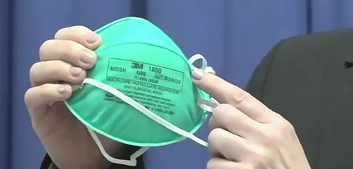 Feds Seize Millions of Fake N95 Masks from China - ALLOW IMAGES