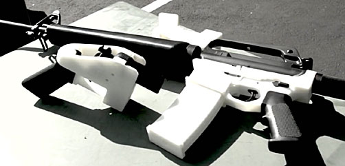 3D printed gun - ALLOW IMAGES