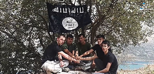 Tajik vehicle ramming suspects pledging allegiance to the Islamic State - ALLOW IMAGES