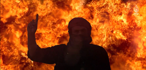 ISIS propaganda film urges followers to attack using forest fires - ALLOW IMAGES